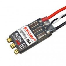 EXUAV Lighting 35A 2-5S BLHeli_S Brushless ESC Support Dshot600 for RC FPV Racing Drone