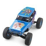Wltoys 10428A 1/10 2.4G 4WD 30KM/h Remote Control Racing Car 540 Brushed Motor Rock Climbing Truck Toys