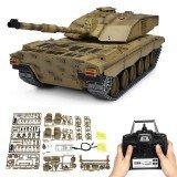 Henglong 3908-1 1/16 2.4G Smoking British Challenger 2II Remote Control Car Battle Tank  Metal Gearbox Toys