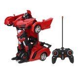 1/18 2 In 1 Remote Control Car Wireless Sports Transformation Robot Models Deformation Truck Fighting Toys