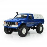WPL C-24 1/16 4WD 2.4G Military Truck Buggy Crawler Off Road Remote Control Car 2CH RTR Toy Kit