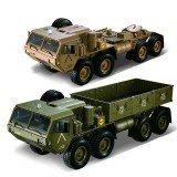 HG P801 P802 1/12 2.4G 8X8 M983 739mm Rc Car US Army Military Truck Without Battery Charger