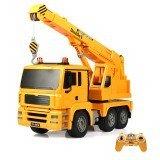 Double Eagle E516-003 1/20 2.4G Rc Car Engineering Crane Truck 360° Rotation W/ Light Sound Toys