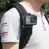 Sport Camera Backpack Clip Mount 360 Degree Rotary For Xiaomi Yi Gopro Hero6 5 4 Action Camera