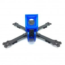 Cobra X6 X6D 6 Inch 256mm 4mm Arm Racing Frame Kit w/ Camera Mount for Gopro Session RC Drone