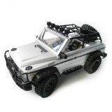 HG P402 1/10 2.4G 4WD Rc Car 540 Brushed Rock Crawler Metal 4X4 Pickup Truck RTR Toy