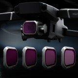 PGYTECH Professional Camera Lens Filter Kit Combo ND8 ND16 ND32 ND64 4Pcs for DJI Mavic 2 Pro Drone