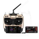 RadioLink AT9S 2.4GHz 10CH Upgrade Transmitter with R9DS DSSS&FHSS Receiver