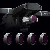 PGYTECH Camera Lens Filter Kit Combo ND8PL ND16PL ND32PL ND64PL 4Pcs for DJI Mavic 2 ZOOM Drone
