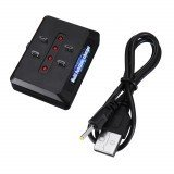 4-in-1 1S 3.7V LiPo Battery Charger 1.25mm 2.0mm Android Plug for E58 XS809HW XS809S SG700 DM107S