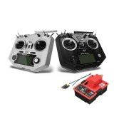 FrSky 2.4G ACCST Taranis Q X7 Radio Controller with R9M 900MHz Transmitter Module R9 MM Telemetry Receiver Combo For RC Drone FPV
