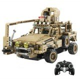 MoFun MZ6003 2.4G 1/12 Military Remote Control Car Block Remote Control Vehicle Toys 768PCS