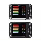 2Pcs URUAV MC-6S 1-6S Lipo Battery Voltage Checker Receiver Signal Tester
