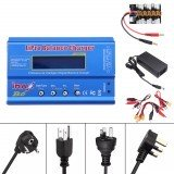 iMAX B6 80W 6A AC Battery Balance Charger with 12V 5A Power Supply with XT30 Parallel Board