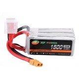 XF POWER 22.2V 1500mAh 120C/240C 6S Lipo Battery XT60 Plug for FPV RC Racing Drone
