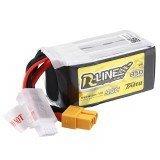 Tattu R-Line V1.0 14.8V 850mAh 95C 4S1P Lipo Battery XT60 Plug For FPV RC Drone