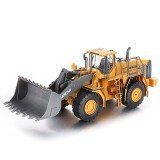 QY2302 1/28 2.4G 6CH Remote Control Car Bulldozer Vehicle Models Engineer Truck