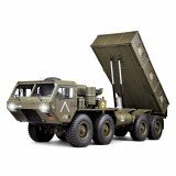 HG P803A Upgraded Light Sound 1/12 2.4G 8X8 EP Remote Control Car for US Army Military Truck 5KG Load Capacity w/o Battery Charger