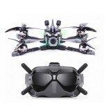 Flywoo Vampire2 HD 210mm F4 Bluetooth 4S FPV Racing Drone BNF w/ DJI Air Unit & Goggles