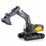 Huina 1592 Alloy 1/14 22ch Alloy Rc Excavator Trucks Excavator Remote Control Vehicle Models Toys