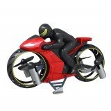 2.4Ghz Remote Flying Motorcycle Mini Done With Led Light Dual Mode Headless Mode RC Drone