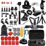 84 in 1 Action Camera Accessories Combo for GoPro SJCAM OSMO YI Sport Cameras