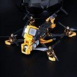 Flywoo Mr.Croc-HD 6 Inch 4S Freestyle FPV Racing Drone BNF DJI FPV Air Unit F7 Bluetooth FC GPS 2450KV 50A BLheli_32 ESC Gold