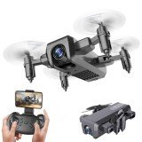 HDRC H2 WIFI FPV With 4K HD Camera Altitude Hold Headless Mode 3D VR Mode Foldable RC Drone Drone RTF