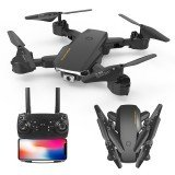 S60 Mini Drone WIFI FPV with 4K HD Dual Camera Optical Flow Positioning 15mins Flight Time Foldable RC Drone Drone RTF
