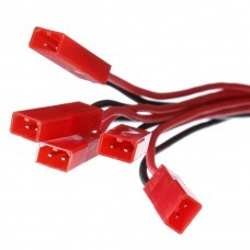 3.7V Li-Po Battery JST Plug 1 to 5 Charging Cable For V959 V212 V222
