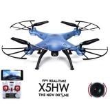 Syma X5HW WIFI FPV With 0.3MP HD Camera 2.4G 4CH 6Axis RC Drone RTF