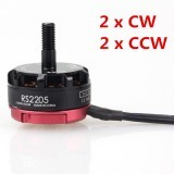 4 X Emax RS2205 2600KV Racing Edition CW/CCW Brushless Motor for FPV Multicopters