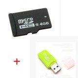 4GB MicroSD Card with Card Reader for RC FPV Camera Drone