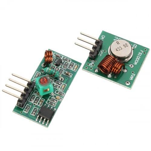 RF Wireless Tx Rx Module 433Mhz - Mikroelectron