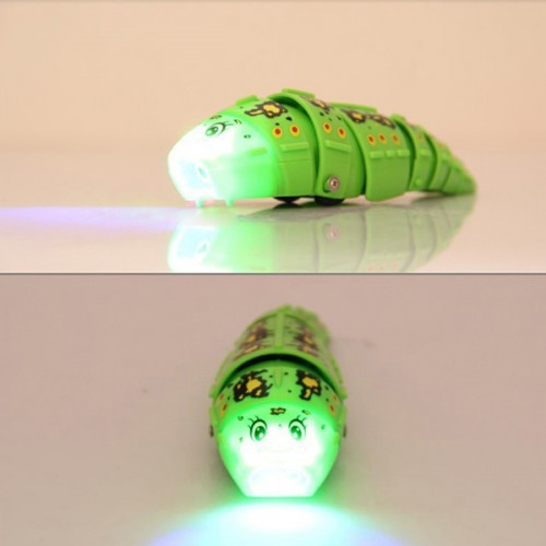 colorful cute mini remote control worm caterpillar with light. Black Bedroom Furniture Sets. Home Design Ideas