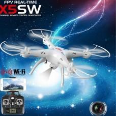 Syma X5SW-1 Explorers 2 Wifi FPV 2.4G RC Drone 2.0MP Camera RTF