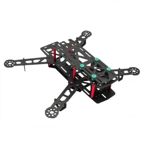 QAV310 Carbon / Glass Fiber Mini FPV Drone Frame Kit