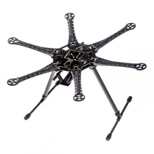 s550 hexacopter frame kit with integrated pcb 550mm black