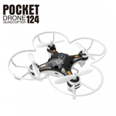 FQ777-124 Pocket Drone 4CH 6Axis Gyro Drone With Switchable Controller  RTF