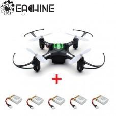 Eachine H8 Mini Headless Mode RC Drone with 5pcs 3.7V 150mAh Battery
