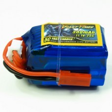 Giant Power 300mAh 11.1V 25C Fast Charge High Performance Lipo Battery F3P