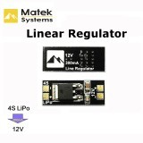 Matek 4S Lipo to 12V Linear Voltage Regulator Regulate Module For FPV Camera Multicopter