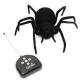 Remote Control 4CH RC Black widow Spider Scary Toy
