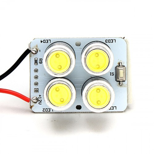 Yuneec typhoon q500 spare parts four lamp searchlight led for Yuneec q500 motor replacement
