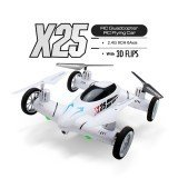 SY X25 2.4G 8CH 6-Axis Speed Switch With 3D Flips RC Drone Land / Sky 2 in 1 RTF