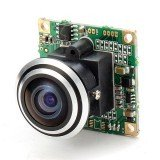1000TVL 1/3 CCD 5MP 1.7mm 170 Degree Wide Angle Fisheye Lens HD FPV Camera NTSC PAL