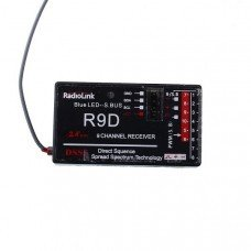 RadioLink Upgraded AT9-R9D R9D 2.4GHz 9CH DSSS Receiver For AT9 AT10 Transmitter