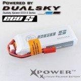Dualsky XP08002ECO 800mAh 7.4V 2S 25C JST Lipo Battery