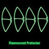Syma X8C X8G X8W RC Drone Spare Part Protection Cover Fluorescent Green