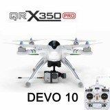 Walkera QR X350 PRO GPS Drone With DEVO 10 FPV Combo